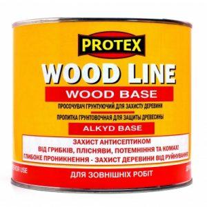 просочувач грунтуючий для деревини